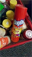 Propane Tanks & Cleaning Supplies