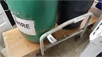 Rolling Cart & Barrels