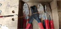 Electrical crimpers and strippers