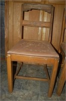 Three Oak Chairs UPDATE - a fourth chair included