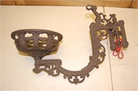 Cast Iron Lamp Holder
