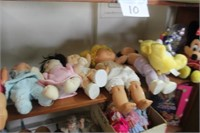 Lot of Dolls,Cabbage Patch Kids,etc