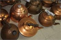 Lot of Copper Decor Items
