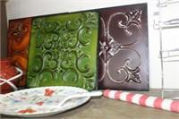 Metal Hanging Decor,Candle Warmer,Plate,Flag