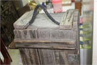 Wooden Explosive Crate, 46x12x9 tall