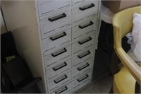 Data Case Metal File Cabinet,19x28x55 tall