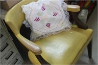Vintage Cushioned Chair