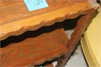 Wooden Occasional Table,42x12x28 tall