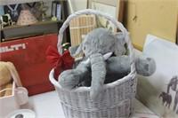 Alabama Elephant & Basket