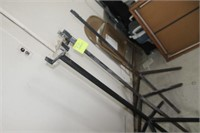 3 Metal Pipe Stands,4' tall