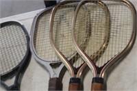 4 Raquet Ball Raquets