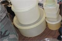 Lot of Tupperware