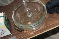 Large Anchor Hocking Bowl with Lid