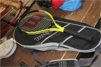 Wilson Tennis Raquet & Case