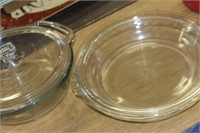 Pie Plates & Bowl with Lid