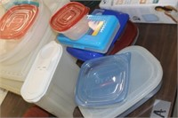 Lot of Storage Containers