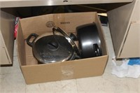 Box of Cookware