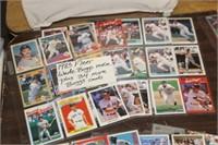 Lot of Wade Boggs Baseball Cards