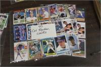 Lot of Cal Ripken Baseball Cards
