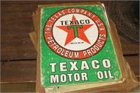 Texaco Metal Sign