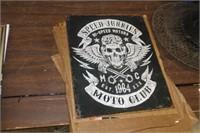Speed Junkies Metal Sign