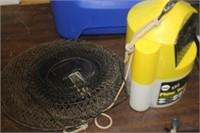 Fishing Pole,Fishing Basket l& Flow Troll