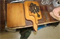 Lot of Cutting Boards & Kitchen Knives