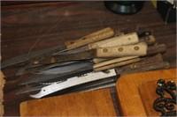 Lot of Various Kitchen Knives