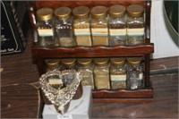 Spice Rack & Ring in Box