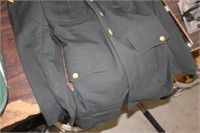 Military Uniform,Sz 37 Long