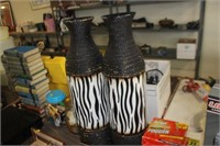 """Pair of 26"""" Tall Vases"""