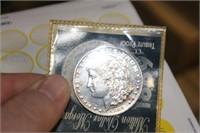 1889 CC Morgan Copy Tribute Proof Dollar