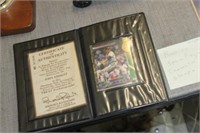 John Smoltz Autographed Baseball Card