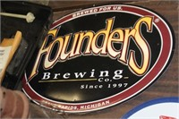 """Founders Metal Sign, 14X20"""""""