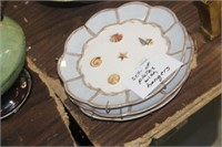 Sea Shell Plates with Hangers