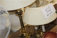 Lot of Three Lamps