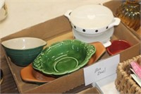Box of Decorative Bowls and Dishes