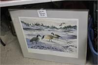 "Wyan Romans Geese Print, 24X27"""