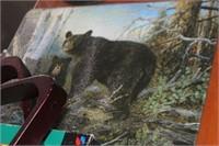 Bear Glass Cutting Board