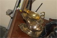 Silverplate Serving Items