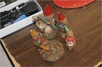 Lot of Gnome Figures