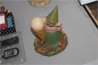 Golf Gnome Figure