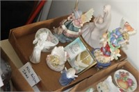 Box of Decorative Religious Items