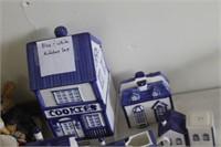 Blue & White Kitchen Set