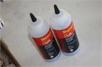 3 Bottles of Starrett Blue Chalk