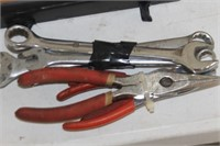 Lot of Wrenches  & Pliers