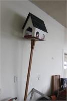 Wooden Bird House,7' Tall