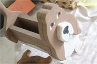 Wooden Dog Box