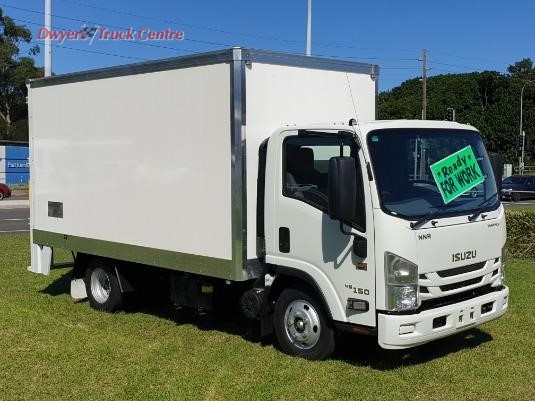 2019 Isuzu NNR 45 150 VanPack Dwyers Truck Centre - Trucks for Sale