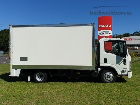 2019 Isuzu NNR 45 150 VanPack - Truckworld.com.au - Trucks for Sale